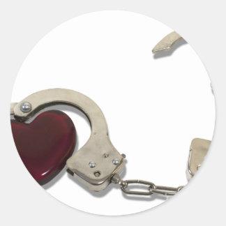 LockedInLove073110 Round Sticker
