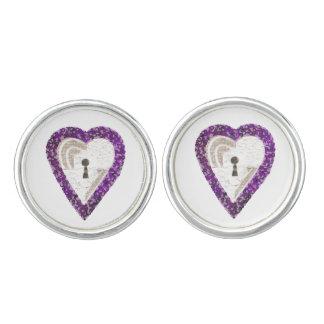 Locker Heart Cufflinks