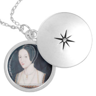 Locket with Anne Boleyn portrait