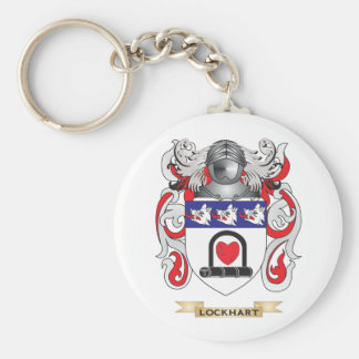 Lockhart Coat of Arms (Family Crest) Key Chains