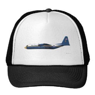 Lockheed C-130 Hercules Blue Angels Blue Cap