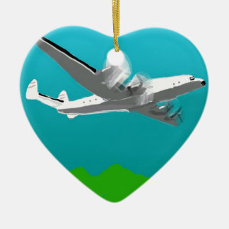 Lockheed Constellation Christmas Ornament