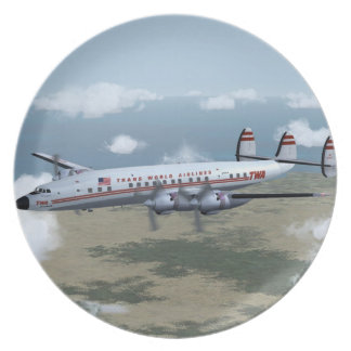 Lockheed Constellation Plate