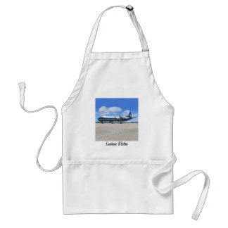 Lockheed Electra Airliner Adult Apron