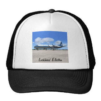 Lockheed Electra Airliner Trucker Hats