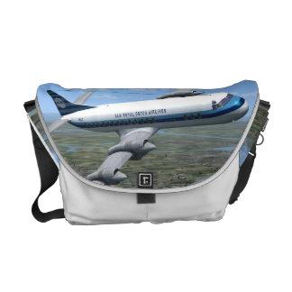 Lockheed Electra Airliner Messenger Bag