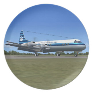 Lockheed Electra Airliner Plate