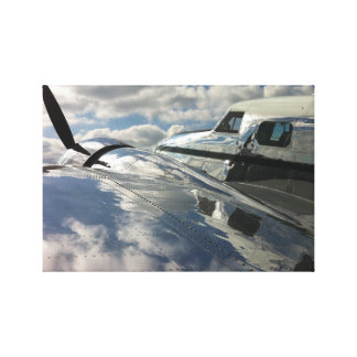 Lockheed Electra Gallery Wrapped Canvas