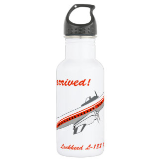 Lockheed Electra Vintage Aircraft 532 Ml Water Bottle