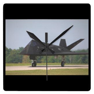 Lockheed F-117A Nighthawk_Aviation Photograp II Clock