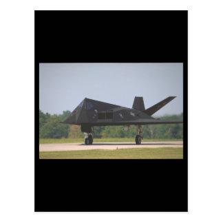 Lockheed F-117A Nighthawk_Aviation Photograp II Postcard