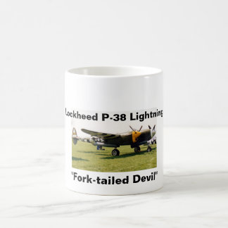 Lockheed P-38 Lightning Coffee Mug
