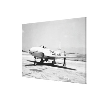 Lockheed P-80A Airplane Stretched Canvas Prints