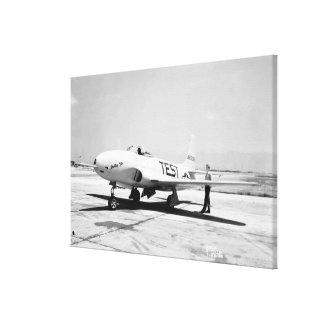 Lockheed P-80A Airplane Canvas Print