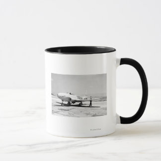 Lockheed P-80A Airplane Mug