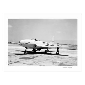 Lockheed P-80A Airplane Postcard
