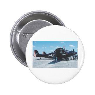 Lockheed PV-2 Harpoon 6 Cm Round Badge
