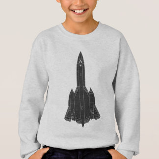 Lockheed SR-71 Blackbird Blueprint Sweatshirt