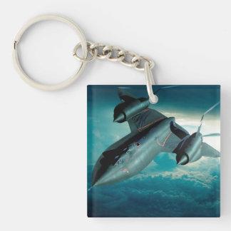 Lockheed SR-71 Blackbird Key Ring