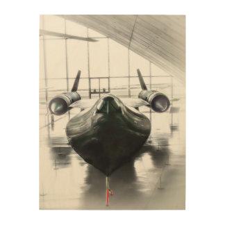 Lockheed SR-71 Blackbird Wood Print