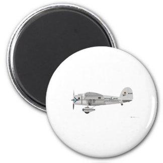 Lockheed Vega 6 Cm Round Magnet