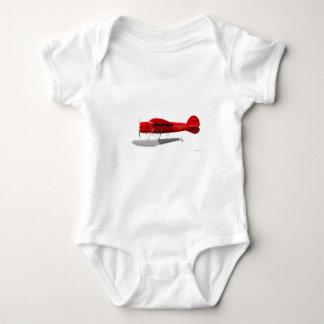 Lockheed Vega Float Plane Baby Bodysuit
