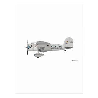 Lockheed Vega Postcard