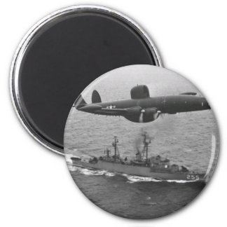 Lockheed WV-2 Super Constellation 6 Cm Round Magnet