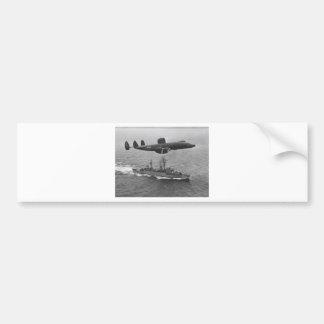Lockheed WV-2 Super Constellation Bumper Sticker