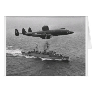 Lockheed WV-2 Super Constellation Card