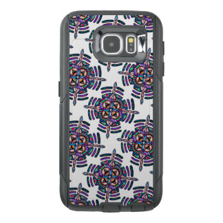 Locking in peace - OtterBox phone case peacock art