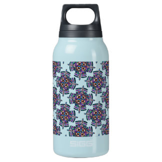 Locking in peace - thermo bottle peacock mandala