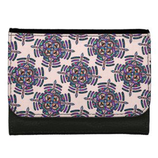 Locking ON peace - walle peacock color mandala Wallet