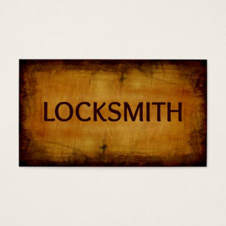 Locksmith Business Card