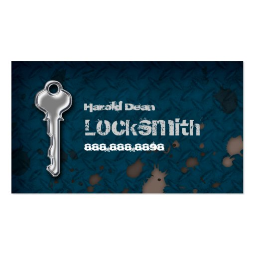Create your own locksmith business cards for Locksmith business cards