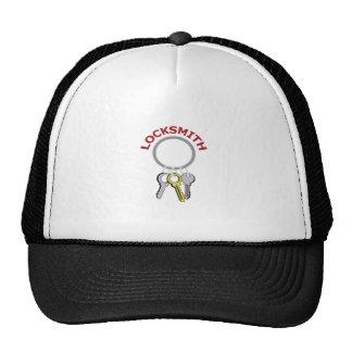 LOCKSMITH KEYS TRUCKER HAT