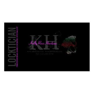 Locktician Hair Locking Specialist Business Card