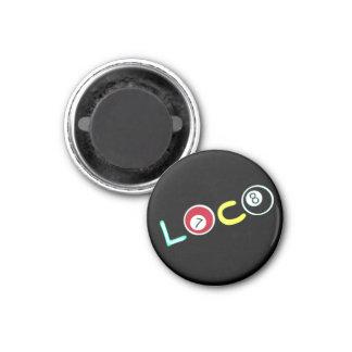 Loco 3 Cm Round Magnet