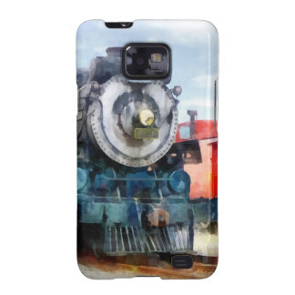 Locomotive and Caboose Samsung Galaxy S2 Covers