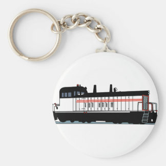 Locomotive Basic Round Button Key Ring