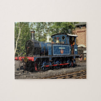 Locomotive Bluebell Train Jigsaw Puzzle