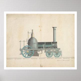 Locomotive Design (1344) Poster