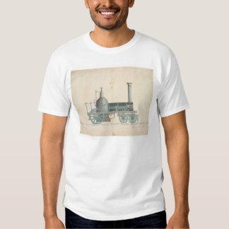 Locomotive Design (1344) Tshirt