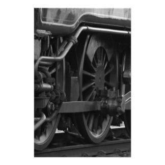 Locomotive mechanic school personalised stationery