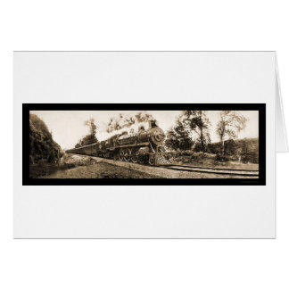 Locomotive Oregon Railroad Photo 1906 Card