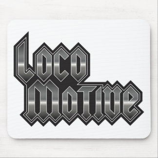 LocoMotive-StackMetal Mouse Pad