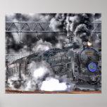 Locomotive / Train Photo Poster Poster