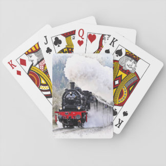 Locomotive Train Playing Cards