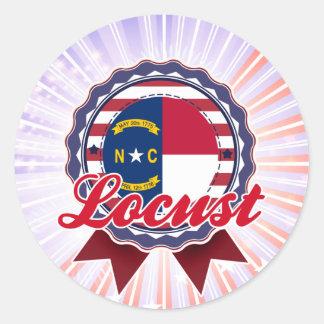 Locust, NC Sticker