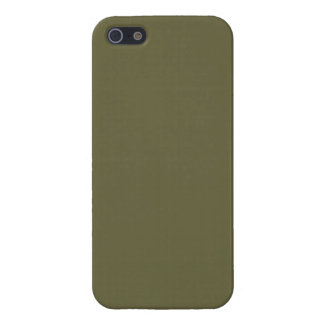 Loden Olive Green Color Trend Blank Template iPhone 5 Cases